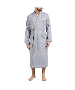 Ralph Lauren | Polo Herringbone Cotton Robe Navy