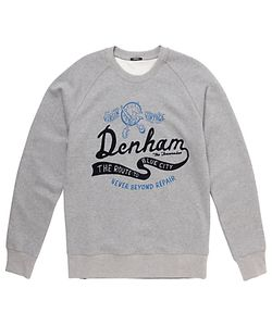 Denham | Route To The City Sweatshirt Marl