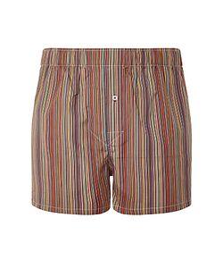 Paul Smith | Stripe Slim Woven Cotton Boxers Multi