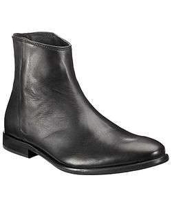 Paul Smith | Rear Zip Leather Ankle Boots