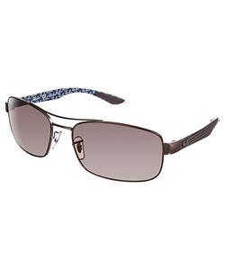 Ray-Ban   Rb8316 Carbon Fibre Polarised Sunglasses
