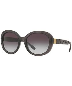 Burberry | Be4218 Gradient Oval Sunglasses