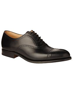 Church's | Toronto Leather Semi Brogue Oxford Shoes