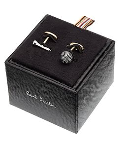 Paul Smith | Golf Ball And Tee Cufflinks