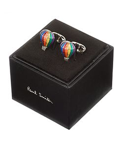 Paul Smith | Bright Hot Air Balloon Cufflinks Multi