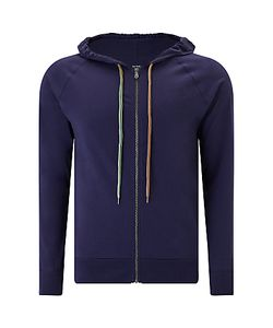 Paul Smith | Jersey Cotton Hoodie Navy