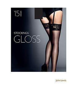 John Lewis | 15 Denier Gloss Stockings Pack Of 1