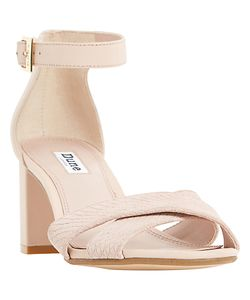 Dune | Imelda Block Heeled Cross Strap Sandals
