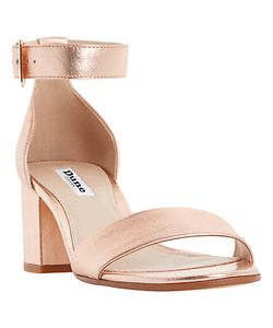 Dune | Jaygo Block Heeled Sandals Rose