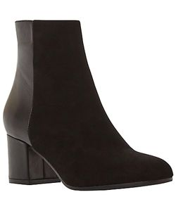 Dune Black | Orsen Classic Block Heeled Ankle Boots