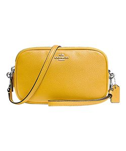 Coach | Leather Across Body Clutch Bag