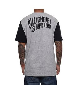 Billionaire Boys Club | The Color Blocked Tee In Heather Gray