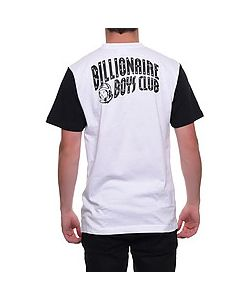 Billionaire Boys Club | The Color Blocked Tee In White Black