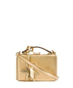 Mark Cross   Saffiano Mini Grace Star Box Gold