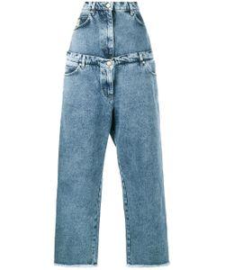 Natasha Zinko | Layered Wide Leg Jeans