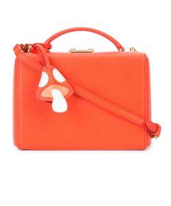 Mark Cross   Small Grace Box Bag With Mushroom Charm