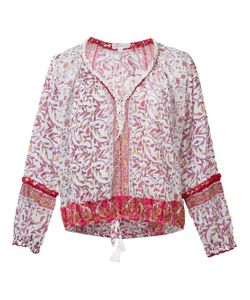 Poupette St Barth | Embroidered Floral Blouse