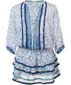 Poupette St Barth | Printed Ruffle Dress