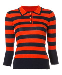 Frame Denim | Striped Collar Sweater