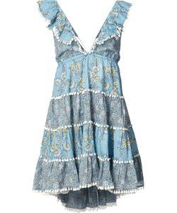 Zimmermann | Tiered Floral Mini Dress