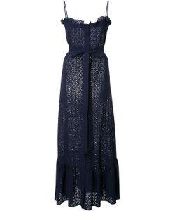 Lisa Marie Fernandez | Buttoned Belted Dress