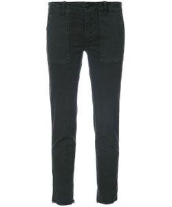 Nili Lotan | Raw Hem Skinny Jeans Blk 0us