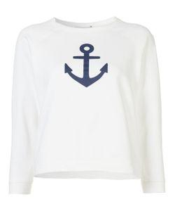Sea | Anchor Sweatshirt Wht Xs