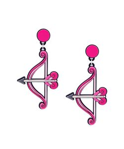 Yazbukey | Bow And Arrow Earrings