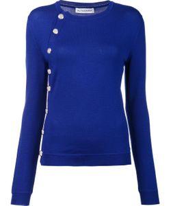 Altuzarra   Asymmetric Button Sweater
