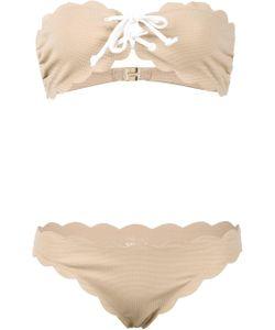 Marysia | Antibes Strapless Top And Tie Bottom Bikini