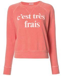 Mother   Cest Très Frais Sweatshirt