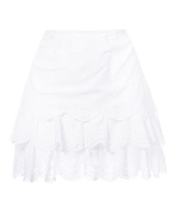 Ulla Johnson | English Embroidery Layered Skirt