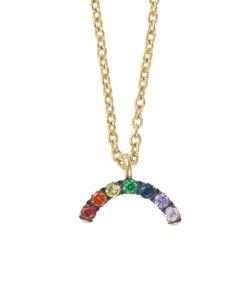 Ileana Makri | Mini Rainbow Necklace