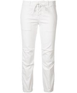 Nili Lotan | Lace-Up Elastic Cuff Pant