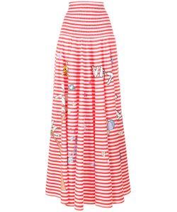 Mira Mikati | Printed Stripe Skirt