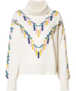 Barrie | Summer Sailor Turtleneck Sweater