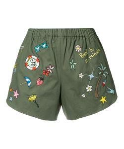 Mira Mikati | Multi Patch Shorts
