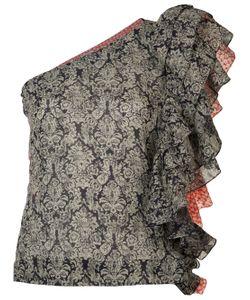 Rosie Assoulin | Ruffled One Shoulder Top