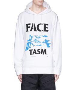 Facetasm | Logo Graphic Print Oversized Hoodie