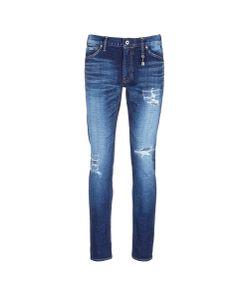 Fdmtl | Figure Cs30 Sashiko Stitch Ripped Skinny Jeans