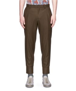 Wooyoungmi | Cropped Wool Twill Pants