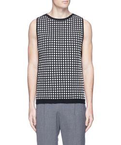 Wooyoungmi | Textu Grid Knit Vest