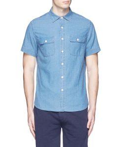 Alex Mill | Dobby Roadhouse Stitch Chambray Shirt