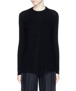 The Row | Courtney Cashmere Cross Front Sweater