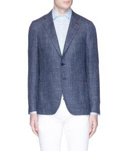 Isaia | Cortina Wool-Silk Blend Blazer