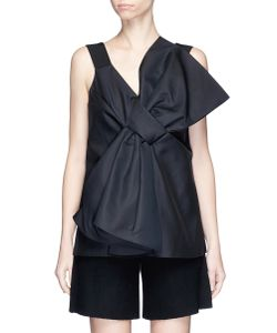 Victoria, Victoria Beckham | Oversized Bow Front Cady Top