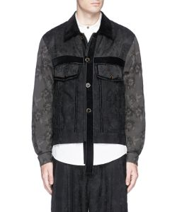 Song For The Mute | Rope Fringe Jacquard Worker Jacket