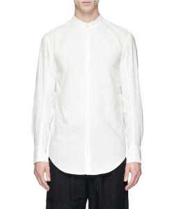 Song For The Mute | Mandarin Collar Cotton Shirt