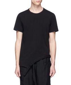 The Viridi-Anne | Asymmetric Hem T-Shirt