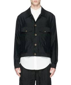 Song For The Mute | Rayon Twill Worker Jacket